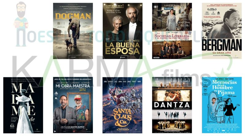Lanzamientos de marzo en DVD y Blu-ray de Karma Films