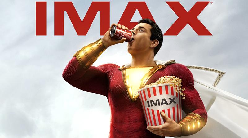 '¡Shazam!': Póster IMAX con el superhéroe preparado para disfrutar de la película