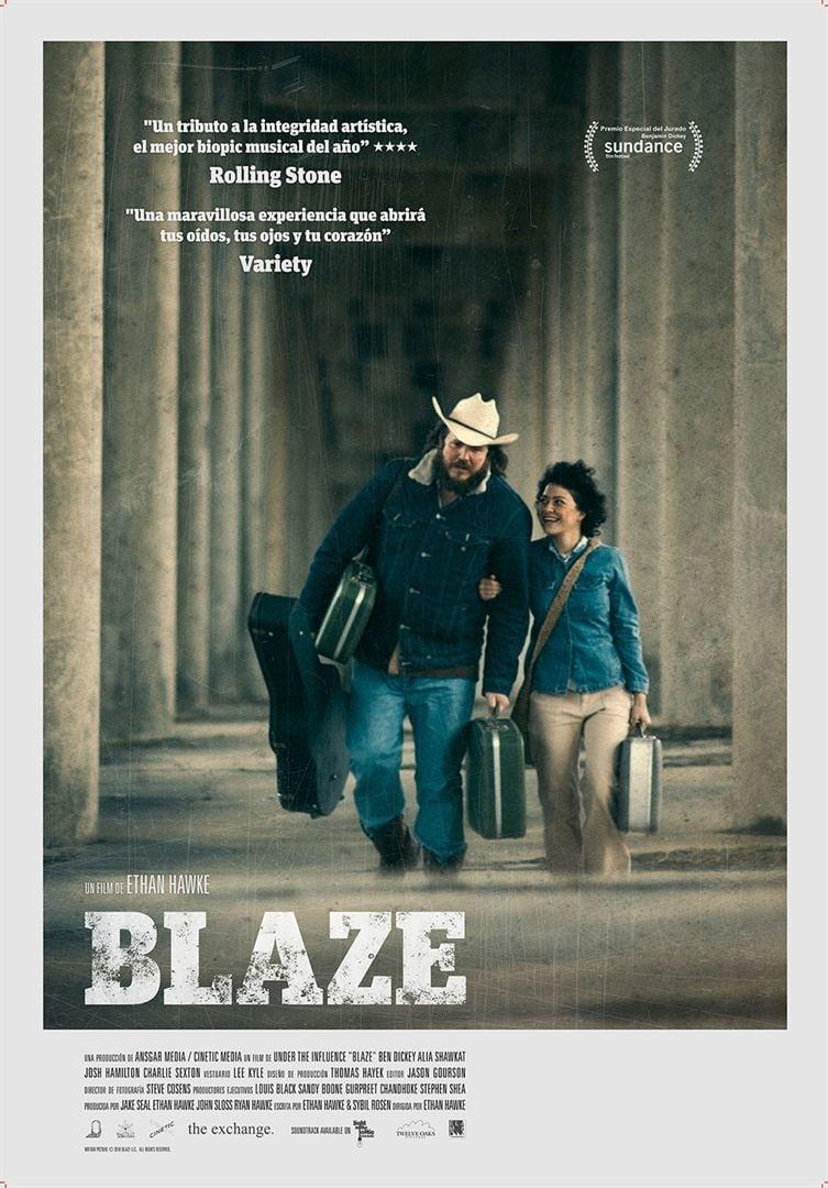 """Pósters de la película """"Blaze"""""""