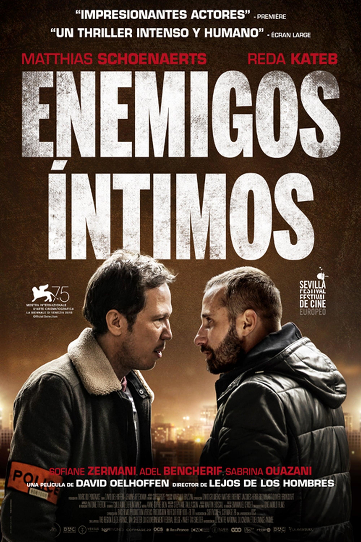 """Pósters de la película """"Enemigos íntimos"""""""