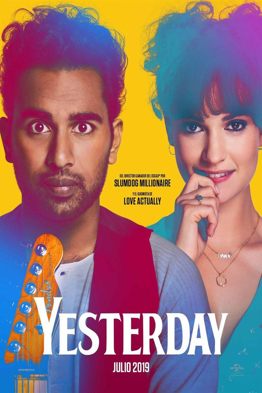 """Pósters de la película """"Yesterday"""""""