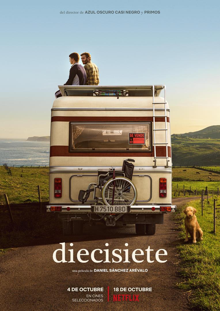 Póster y tráiler de 'Diecisiete', la nueva película de Daniel Sánchez Arévalo
