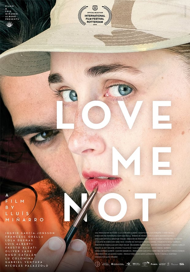 "Pósters de la película ""Love Me Not"""