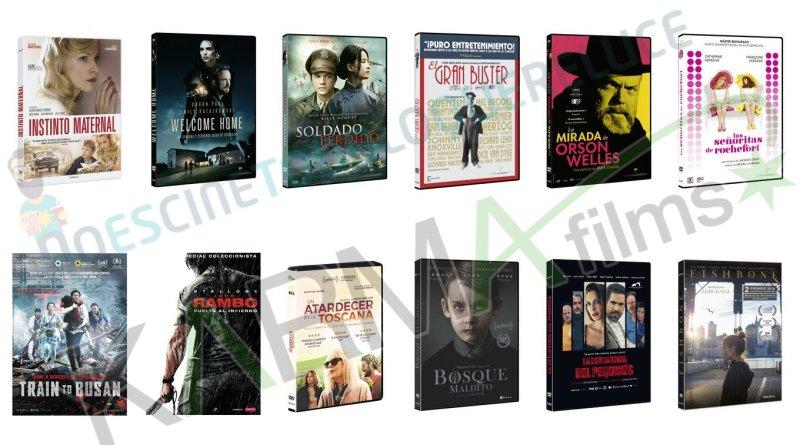Lanzamientos de noviembre en DVD y Blu-ray de Karma Films