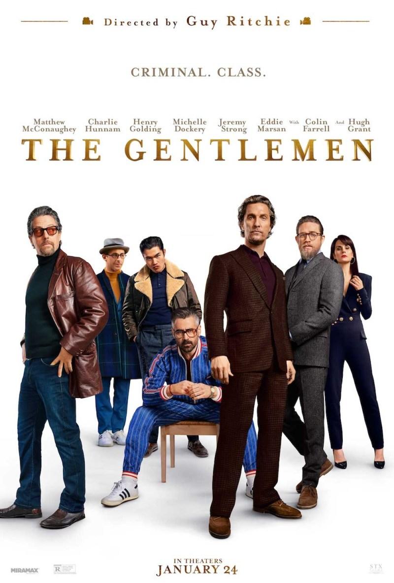 Nuevo póster de la comedia de acción 'The Gentlemen: Los señores ...