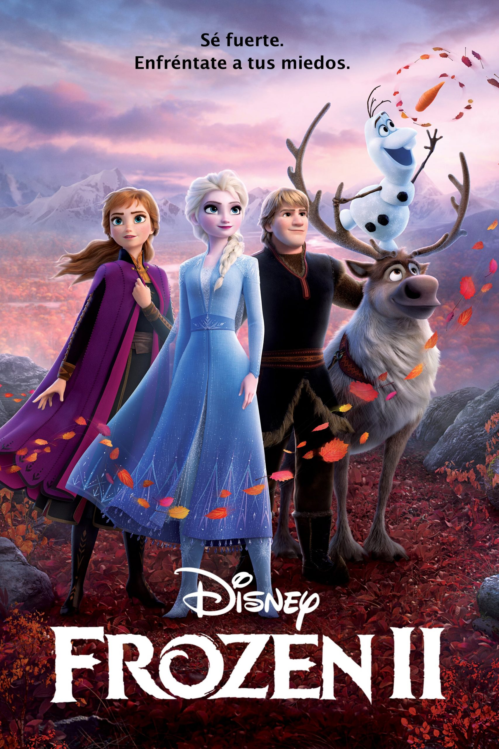 "Pósters de la película ""Frozen 2"""