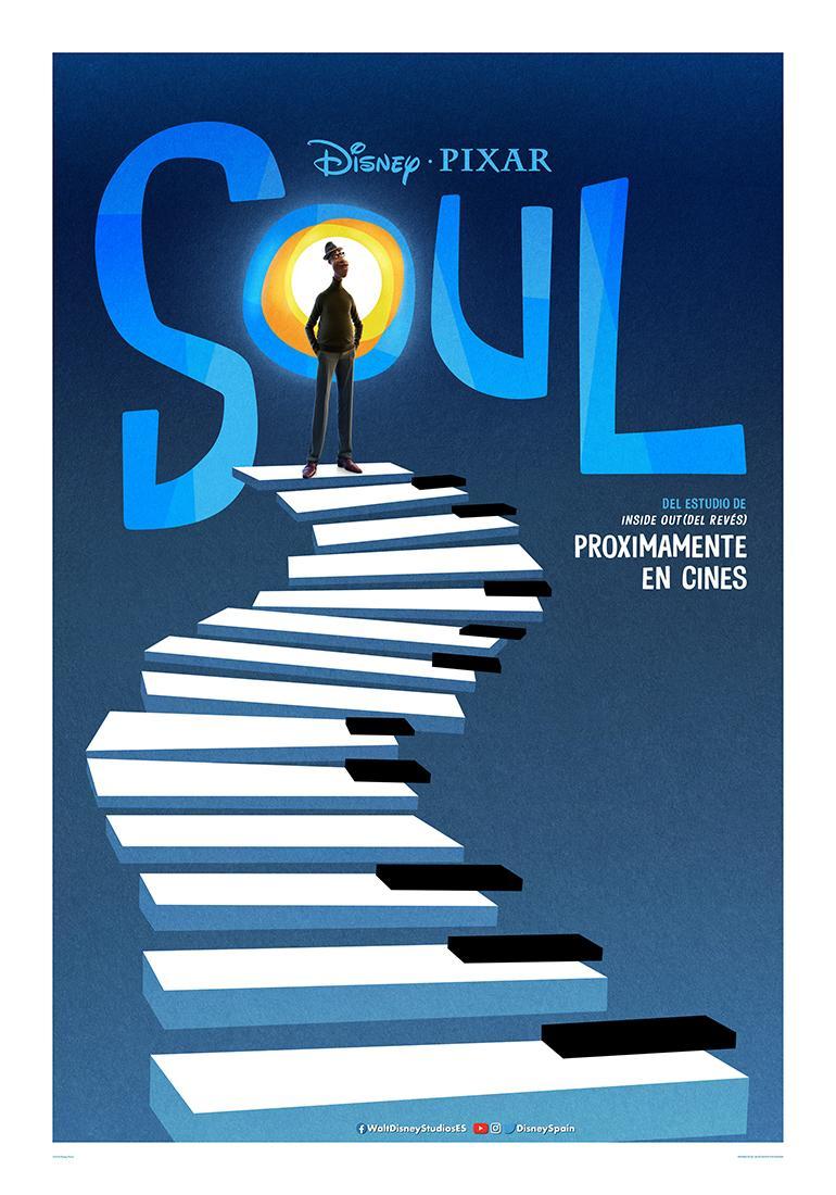 Primer póster español de 'Soul' de Disney•Pixar