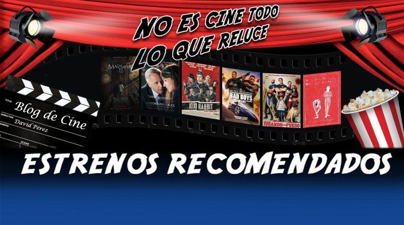 Vídeo avance y recomendación de la semana: 17 de enero de 2020