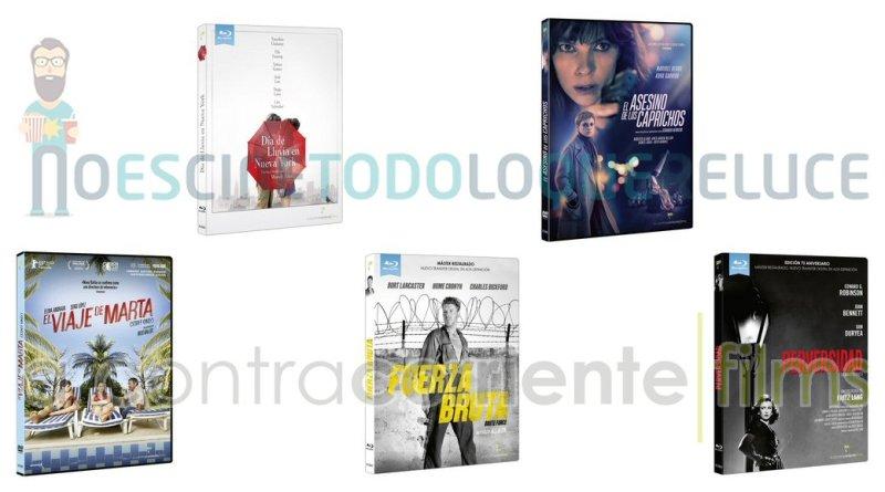 Lanzamientos de febrero en DVD y Blu-ray de A Contracorriente Films