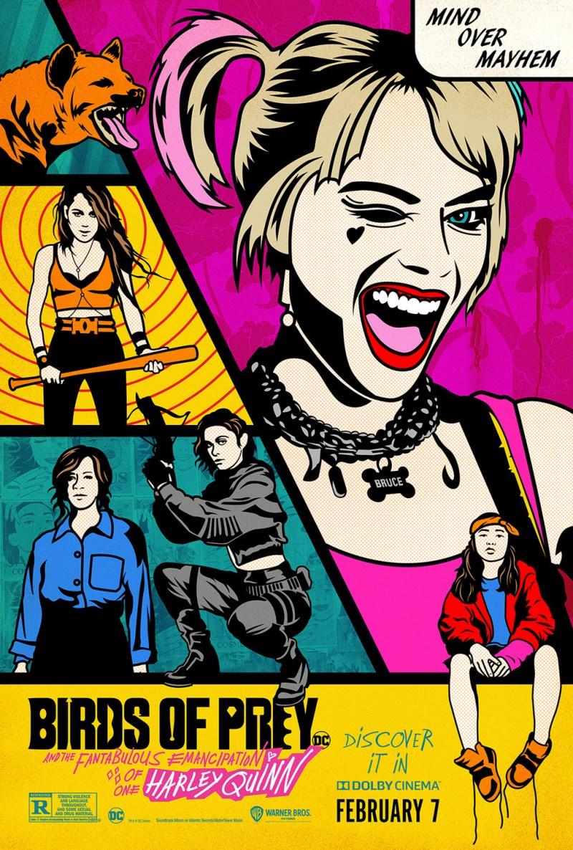 Aves de presa (y la fabulosa emancipación de Harley Quinn)