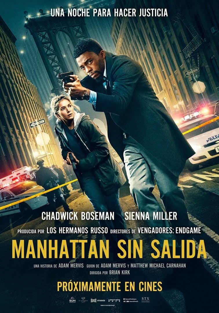 """Pósters de la película """"Manhattan sin salida"""""""