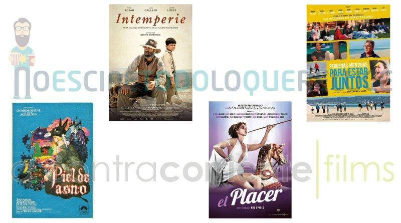 Lanzamientos de marzo en DVD y Blu-ray de A Contracorriente Films