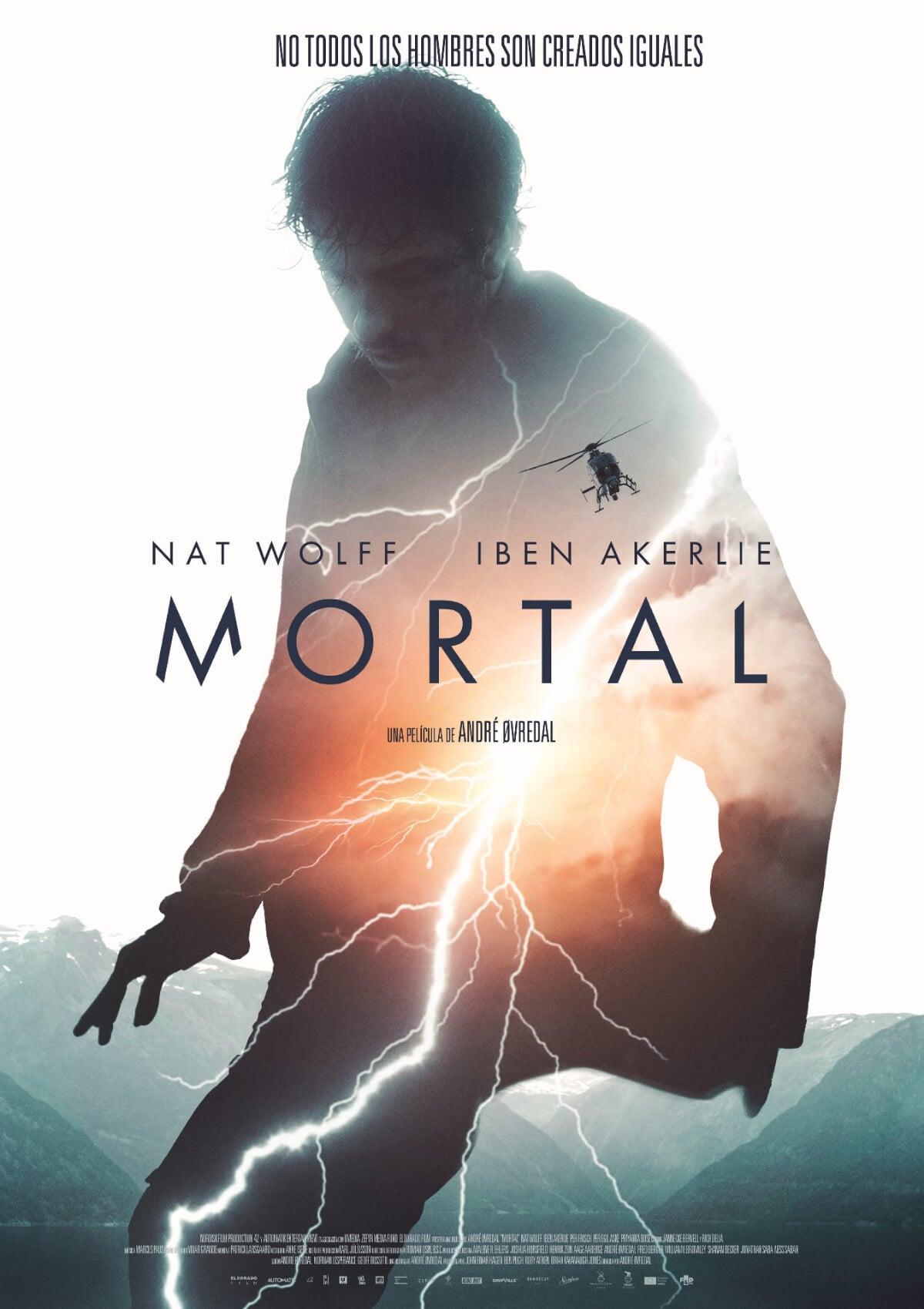 """Pósters de la película """"Mortal"""""""
