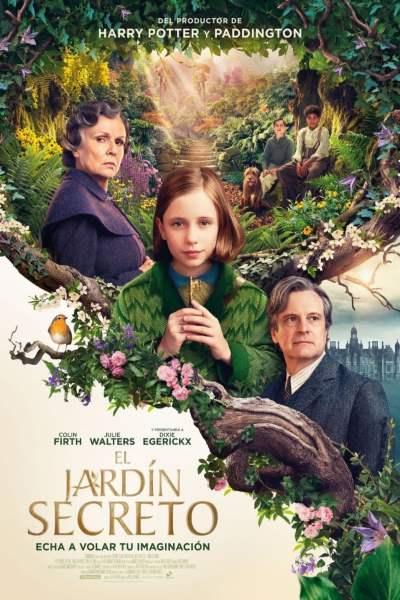 """Pósters de la película """"El jardín secreto"""""""
