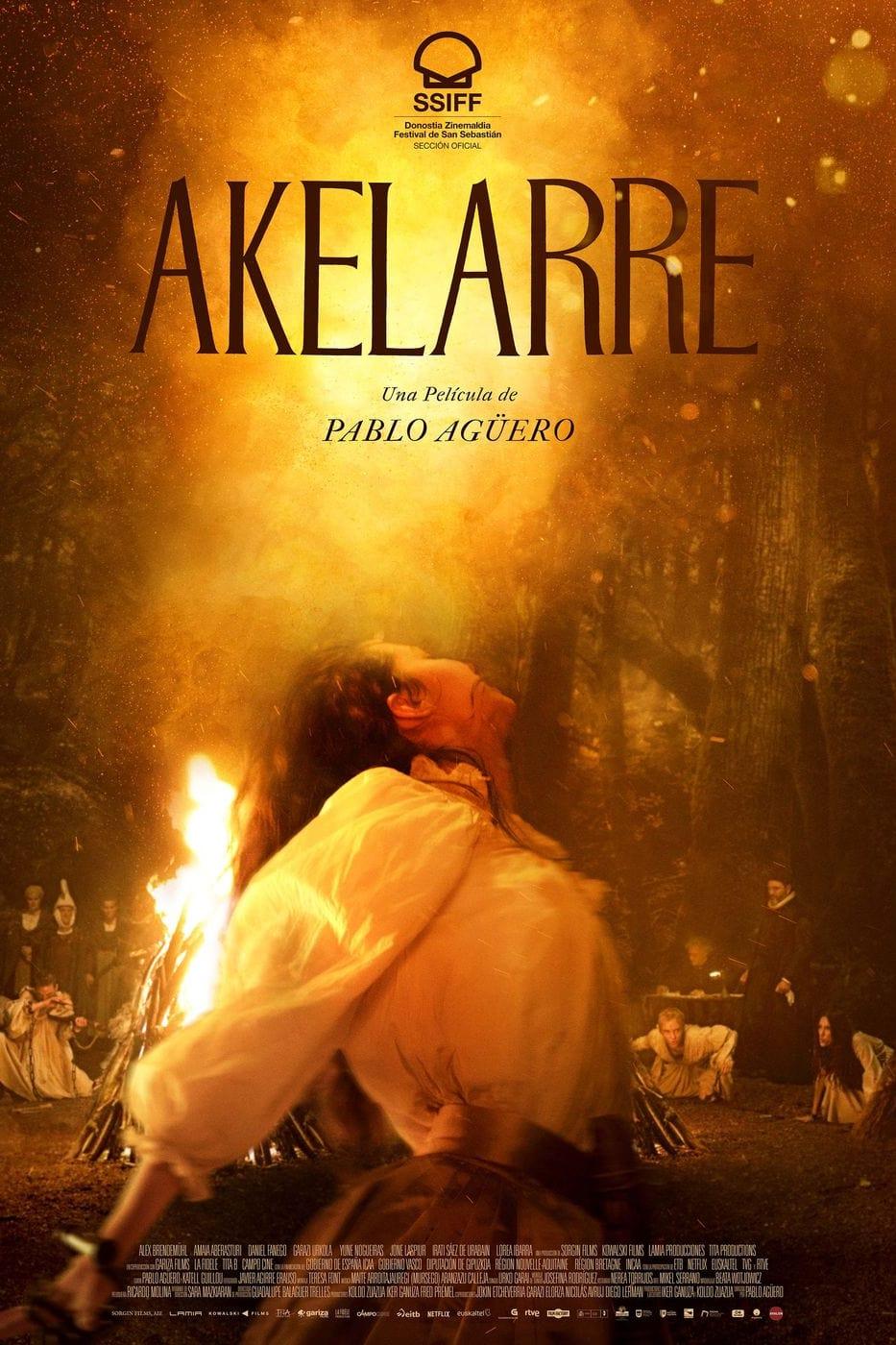 "Pósters de la película ""Akelarre"""