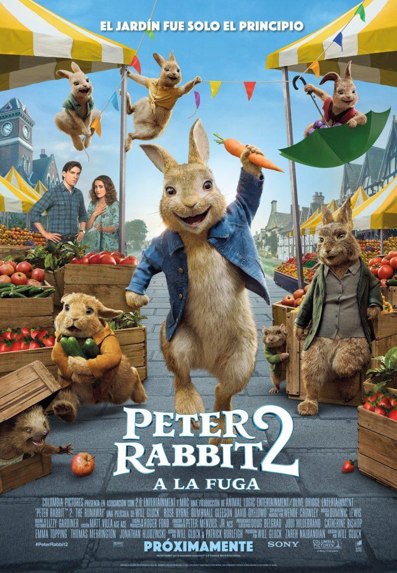 Peter Rabbit 2: A la fuga tiene nuevo póster y fecha de estreno