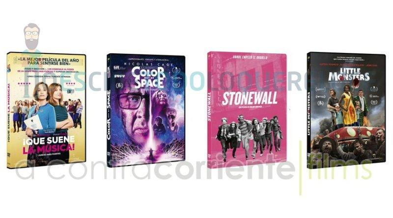 Lanzamientos de diciembre en DVD y Blu-ray de A Contracorriente Films