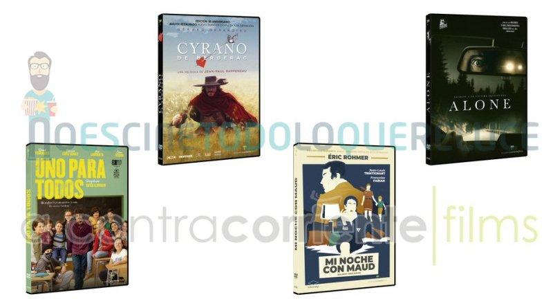 Lanzamientos de enero en DVD y Blu-ray de A Contracorriente Films