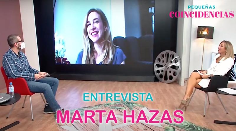 Entrevista a Marta Hazas, protagonista de 'Pequeñas coincidencias'