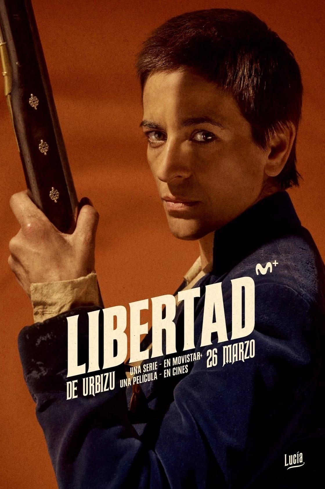 """Pósters de la película """"Libertad"""""""