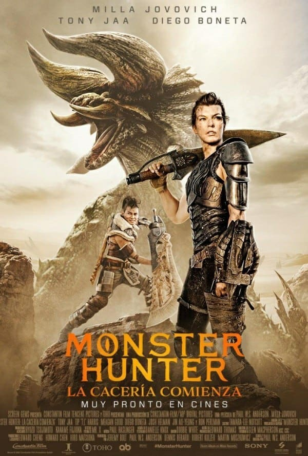 "Pósters de la película ""Monster Hunter"""