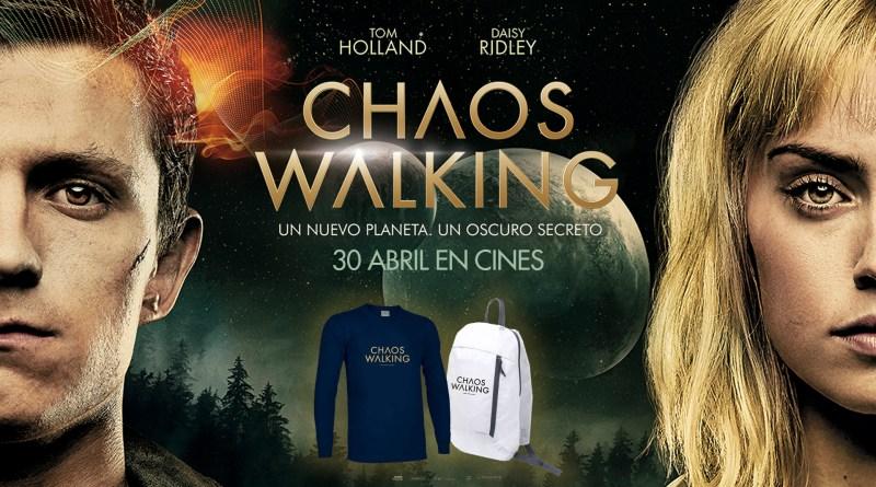 Info y bases: https://noescinetodoloquereluce.com/2021/04/sorteo-chaos-walking-packs-eone.html