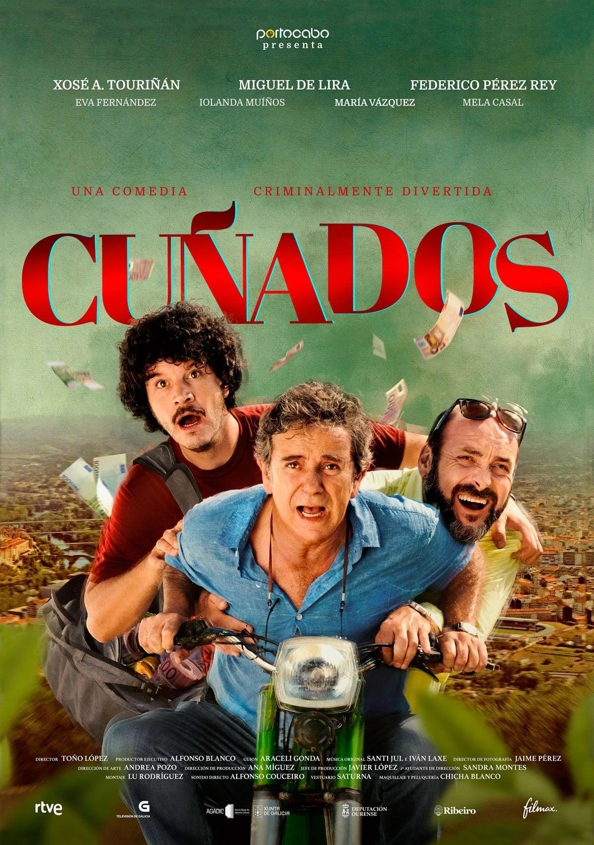 """Pósters de la película """"Cuñados"""""""