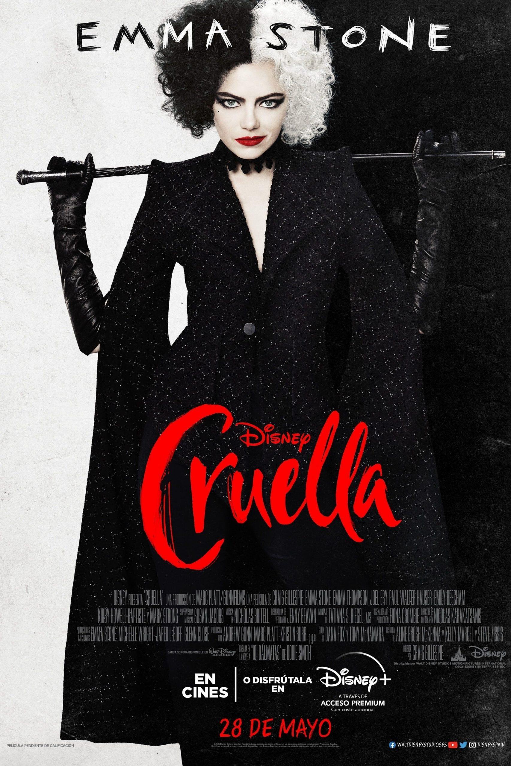 """Pósters de la película """"Cruella"""""""