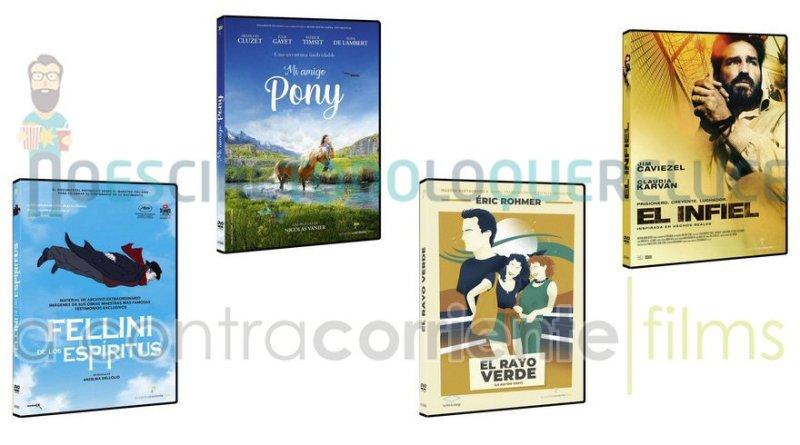 Lanzamientos de mayo en DVD y Blu-ray de A Contracorriente Films
