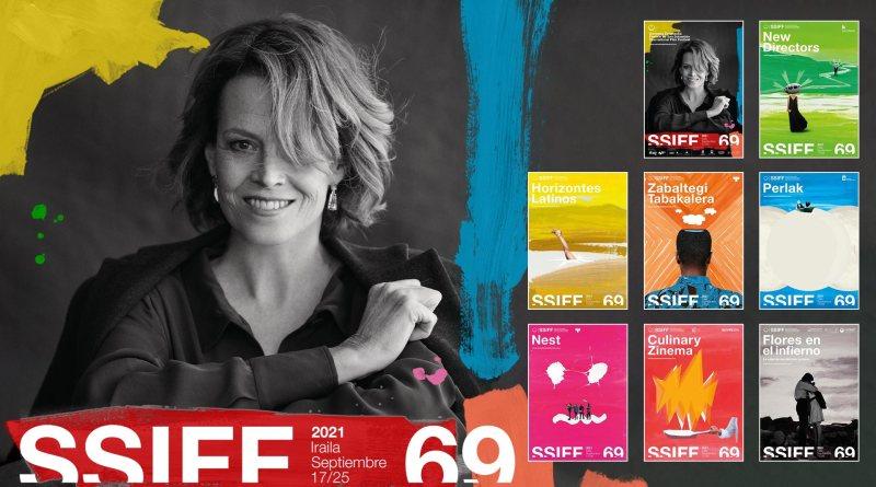 Sigourney Weaver protagoniza el cartel oficial del 69 Festival de San Sebastián