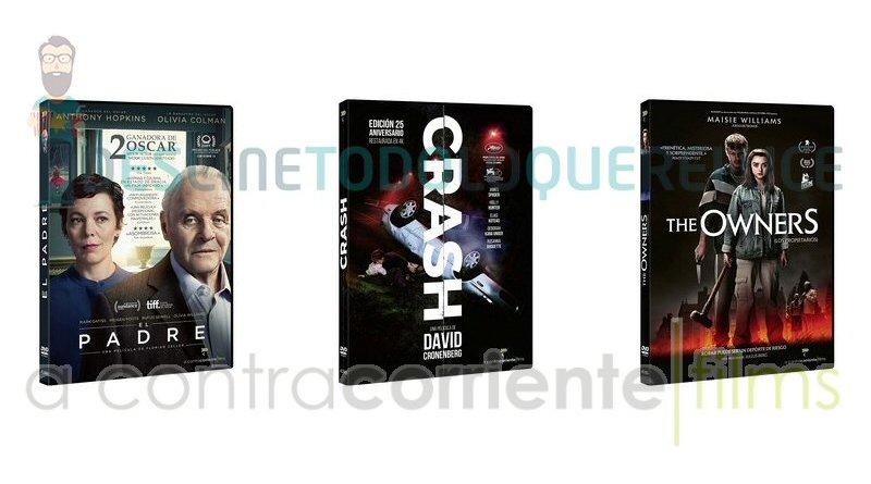 Lanzamientos de julio en DVD y Blu-ray de A Contracorriente Films