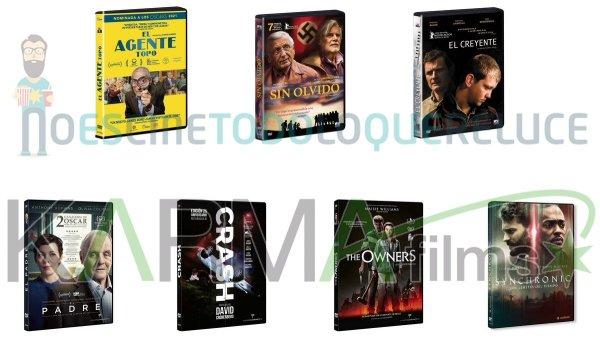 Lanzamientos de julio en DVD y Blu-ray de Karma Films