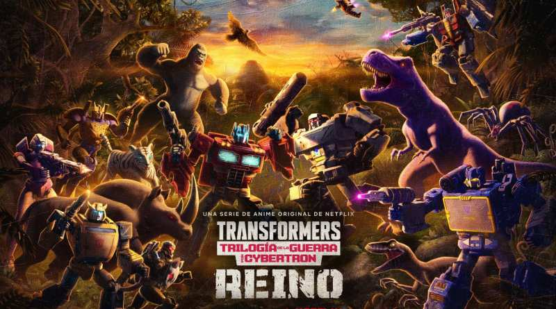 Tráiler oficial del final de la trilogía Transformers: La guerra por Cybertron