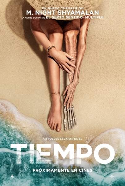"""Pósters de la película """"Tiempo"""""""