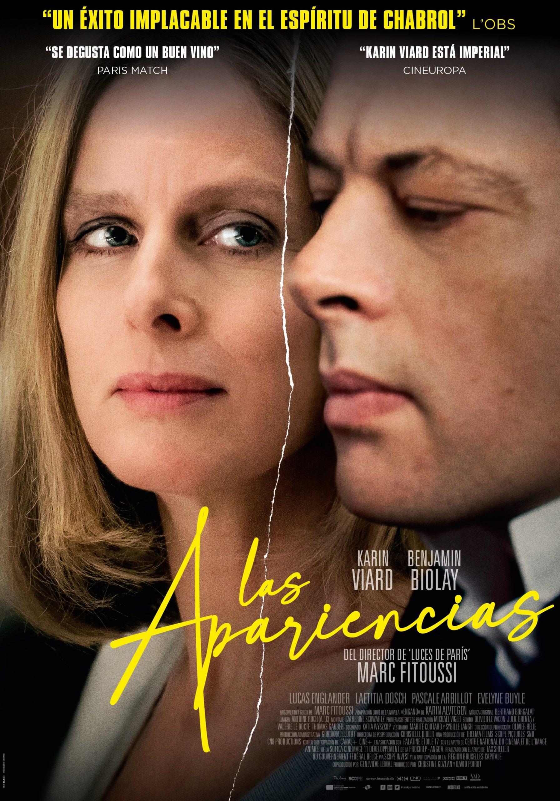 """Pósters de la película """"Las apariencias"""""""