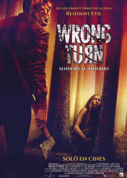Wrong Turn, Sendero al Infierno