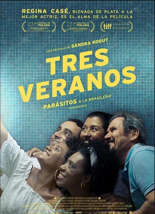 """Pósters de la película """"Tres Veranos"""""""