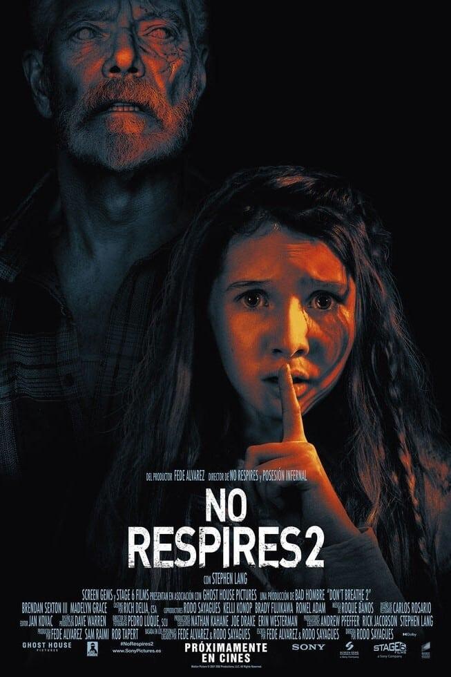 """Pósters de la película """"No respires 2"""""""