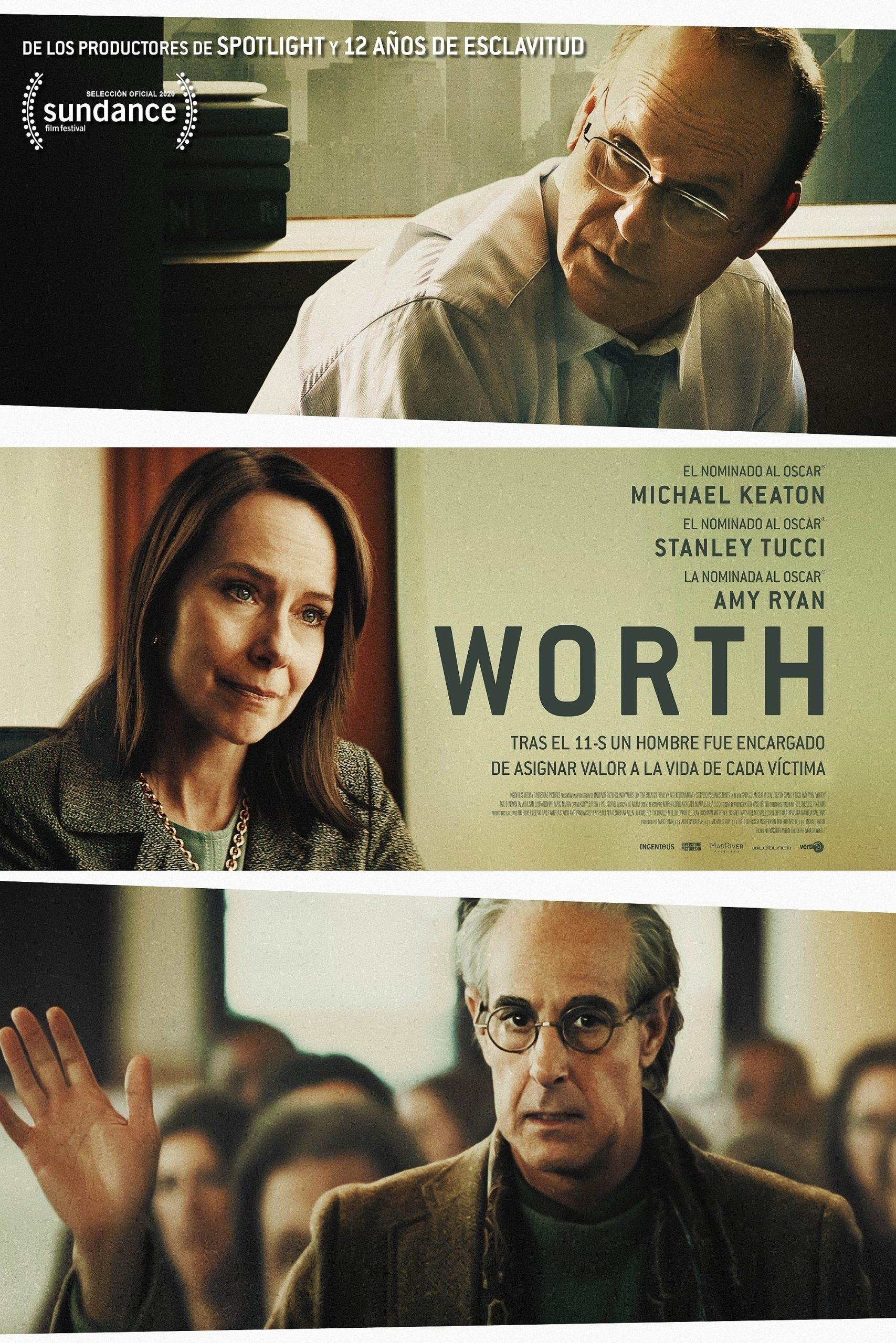 """Pósters de la película """"Worth"""""""