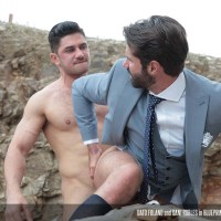"Dato Foland le folla el culazo a Dani Robles en ""Blueprint"" 