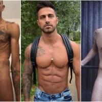 Gay Porn NOW White | Allen King en dildo y fleshjack, 15 años de Men At Play con felicitaciones, los años mozos de Koldo Goran, actores porno hetero chupando tetas