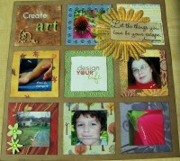 DYL title page || noexcusescrapbooking.com