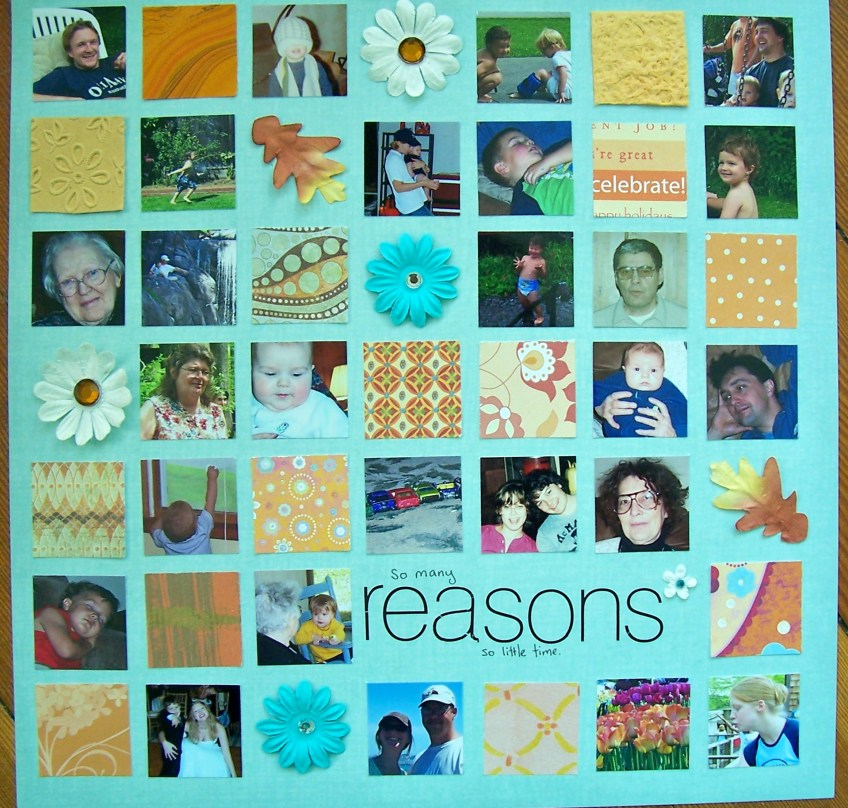 so many reasons || noexcusescrapbooking.com