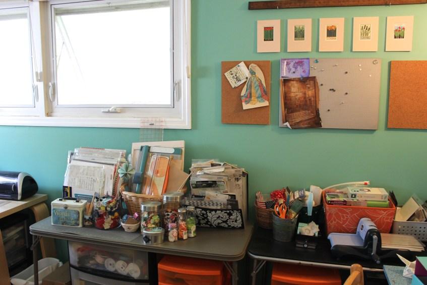 craft room reveal 3 || noexcusescrapbooking.com