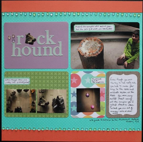 rock hound || noexcusescrapbooking.com