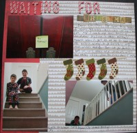 Waiting for Christmas||NoExcuseScrapbooking.com