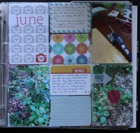 PL album june || noexcusescrapbooking.com