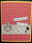 whoooo loves you || noexcusescrapbooking.com