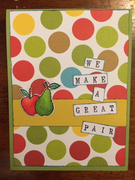 A great pair || noexcusescrapbooking.com