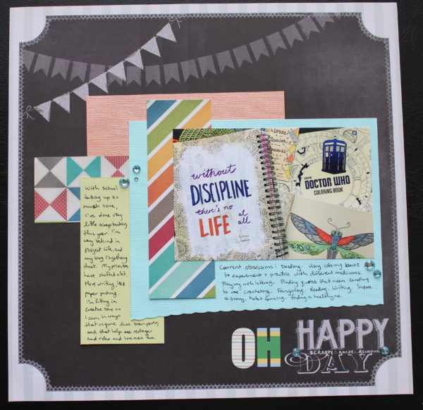 oh happy day || noexcusescrapbooking.com